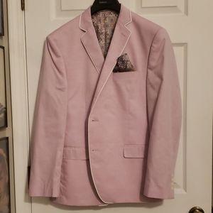 Pastel Pink Blazer 42 Regular